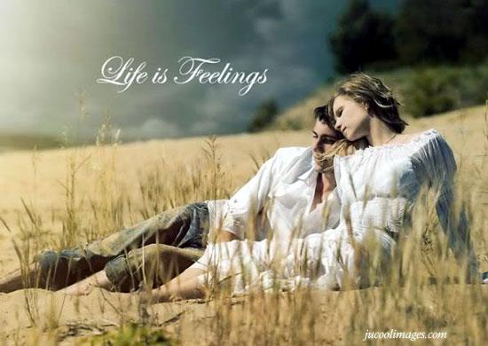 Life is feeling