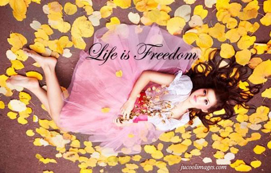Life is freedom